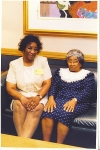Grandmom and Aunt Muncie